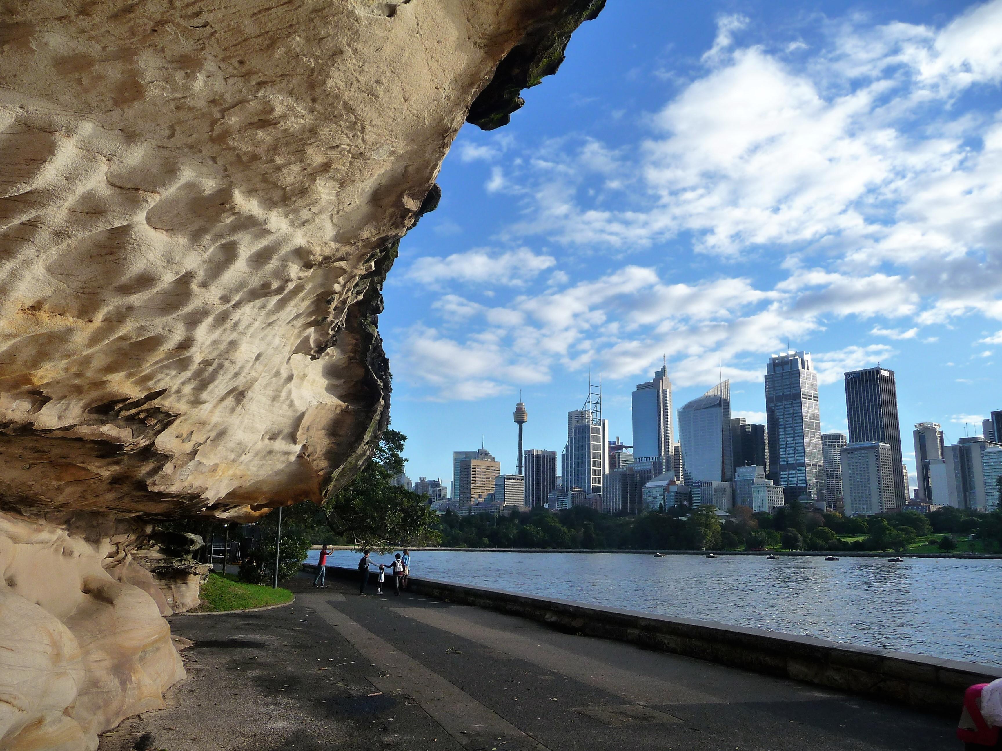 Sydney, uitzicht Mrs Macquaries Chair