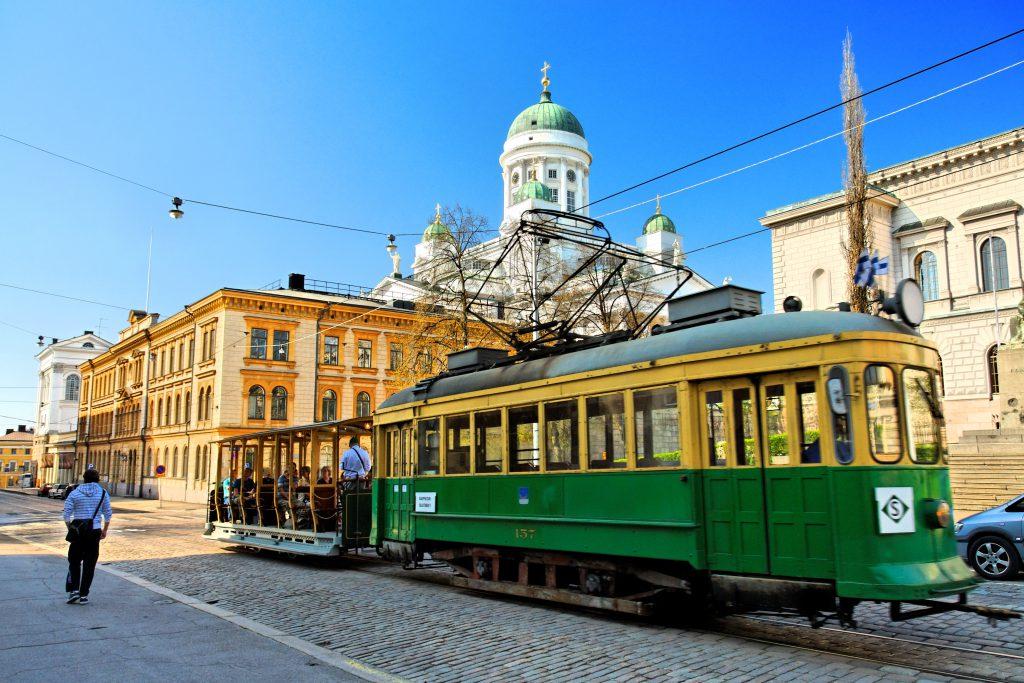 helsinki-groene tram stad